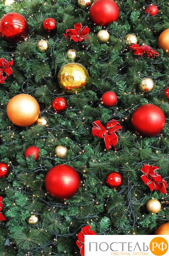 Покрывало 'Новогоднее великолепие' 145х220 см