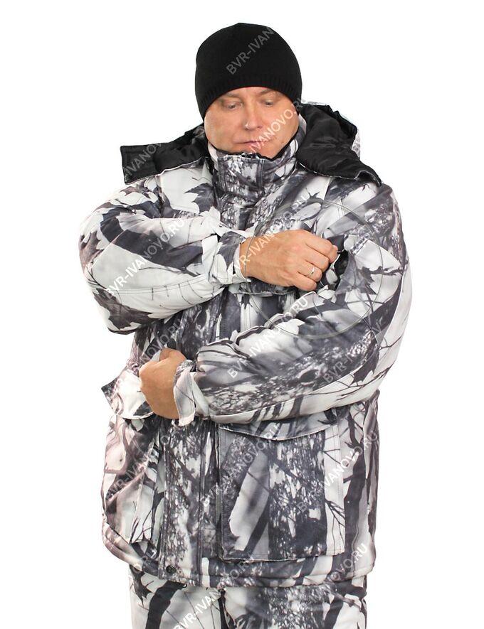 Костюм зимний Форест тк.Алова цв.Белый Лес