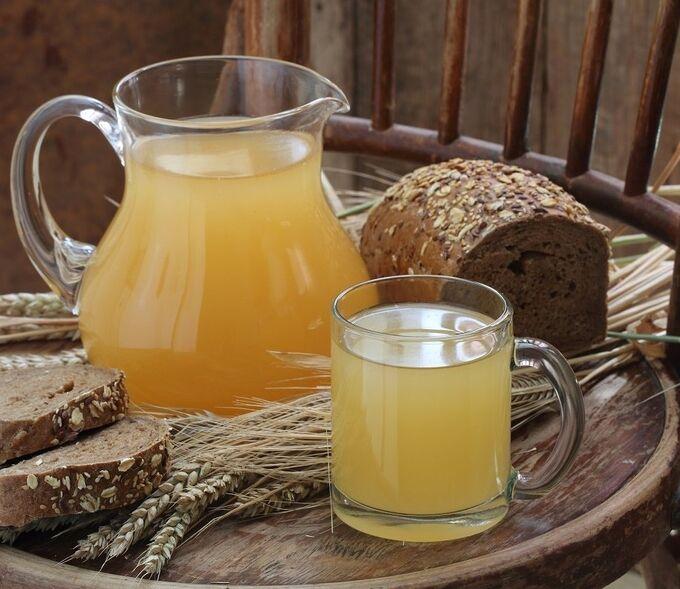 Хлебный квас (бутылка - 1л.)