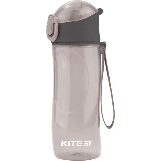 Бутылочка для воды, 530 мл., серая