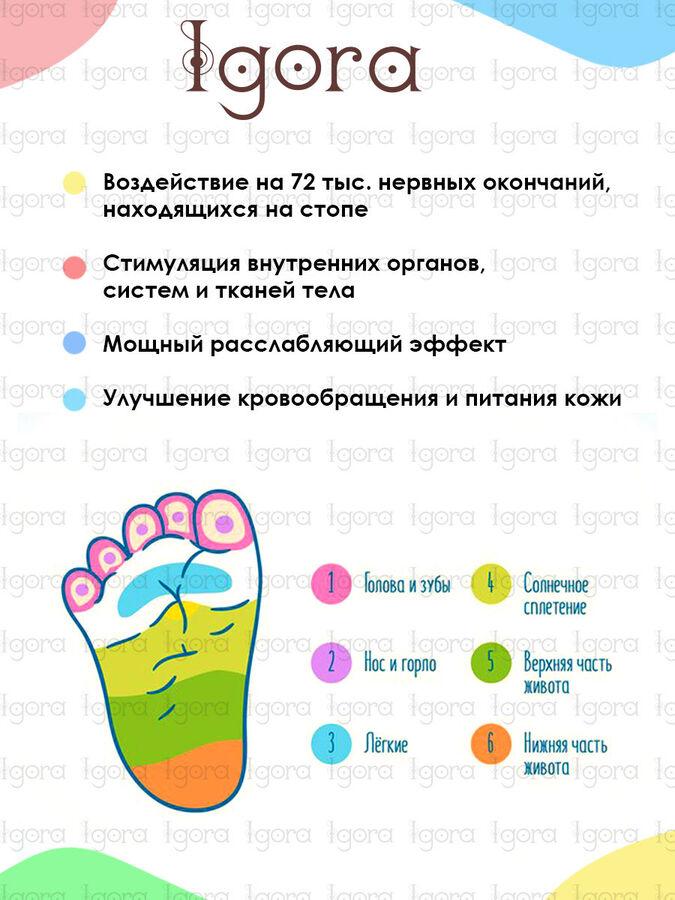 """Коврик массажный """"Ортопед"""" 100х40 см"""