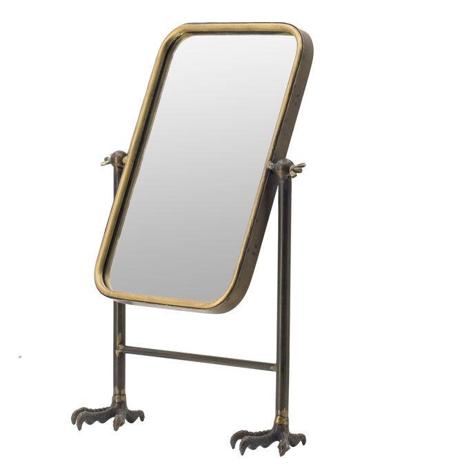 Зеркало настольное в винтажном стиле 48*32,5*18 см