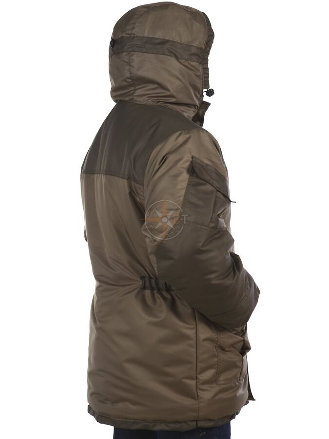 Куртка Шторм зимняя (таслан хаки)