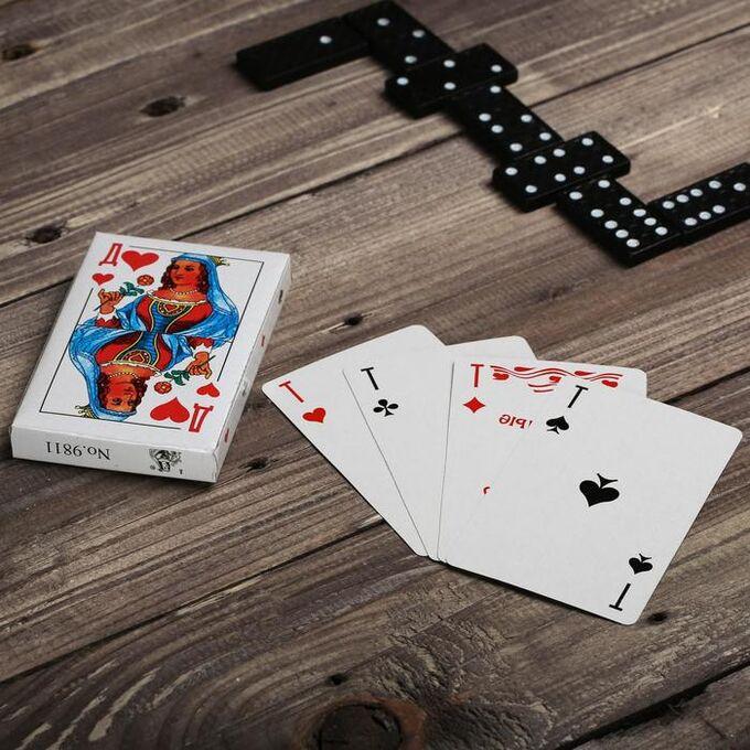 Подарочный набор 3 в 1 «23 февраля», домино, лото, карты