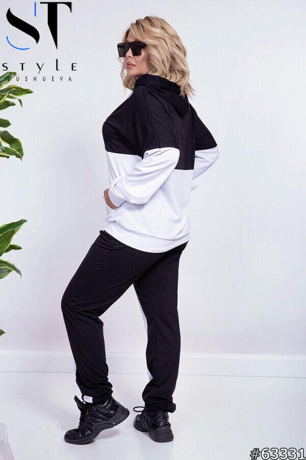 Спортивный костюм 63331 (худи + брюки)