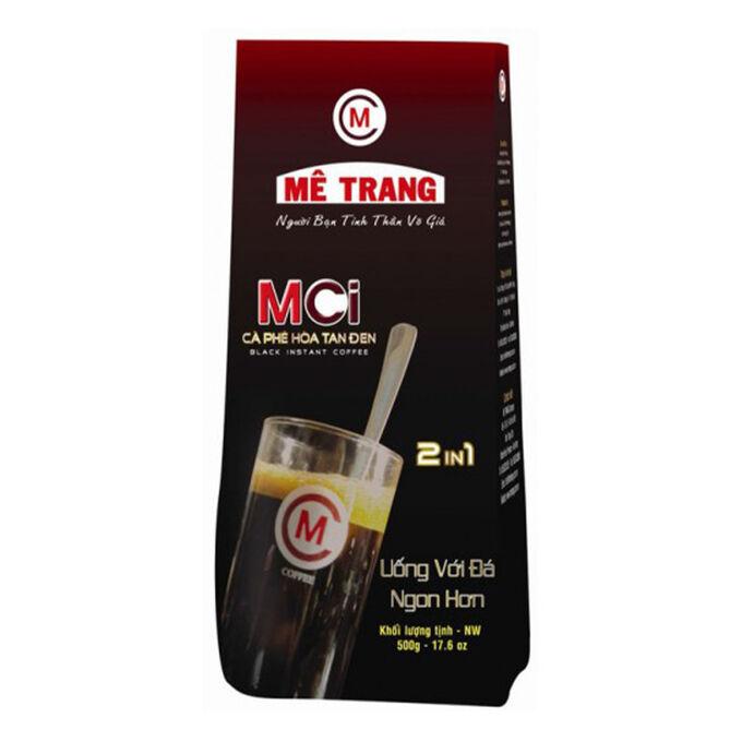 Растворимый кофе фирмы «ME TRANG» «MCI» 2в1 Состав: кофе, сахар. Внутри пакета порционная  ложка. Вес: 500 грамм. Не в пакетиках! Насыпать ложкой.