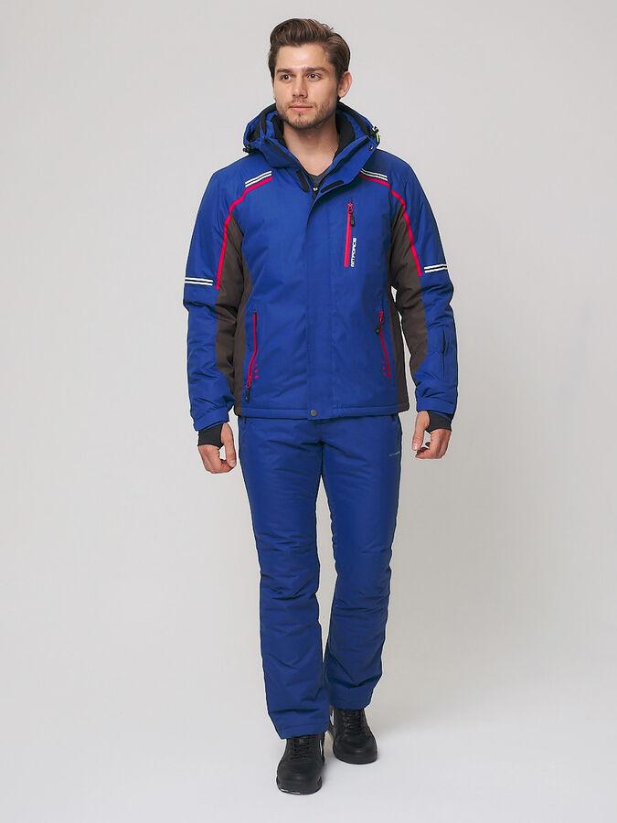 Мужской зимний горнолыжный костюм MTFORCE синего цвета 01971-1S