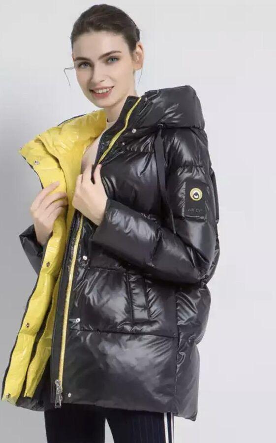 Куртка зимняя Black/Yellow