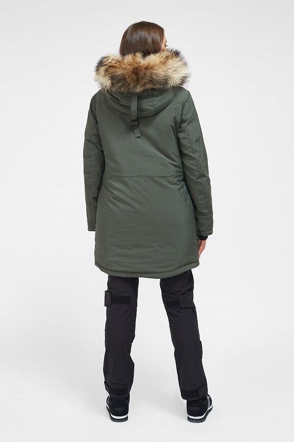 Куртка утепленная женская (хаки)