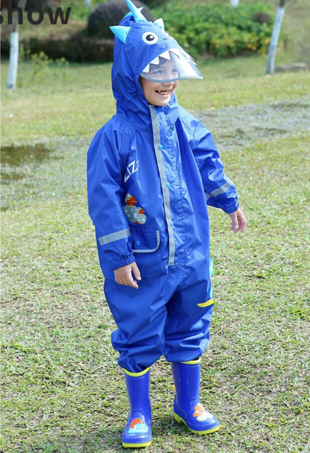 Комбинезон от дождя, цвет синий