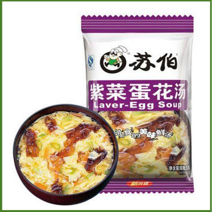 Суп водоросли с яйцом быстрого приготовления KFC