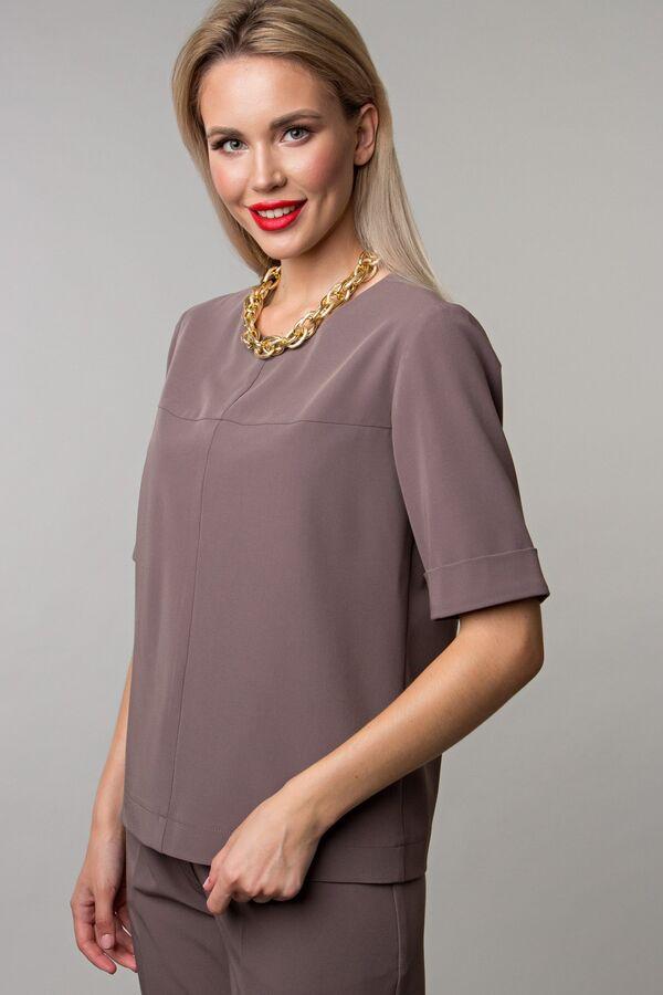 Блуза цвета капучино (Б-151-1)