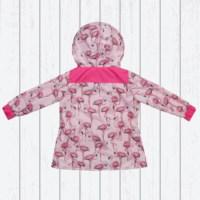 Ветровка для девочки арт.20-002-розовый_фламинго
