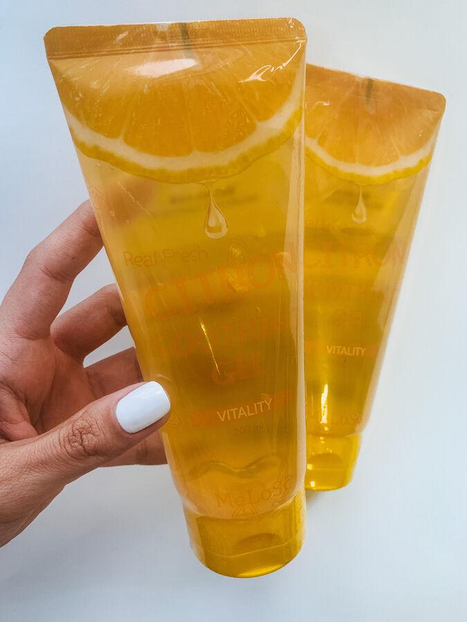 Meloso Real Fresh Citron Soothing Gel Vitality Гель для лица и тела с экстрактом цитруса 200мл
