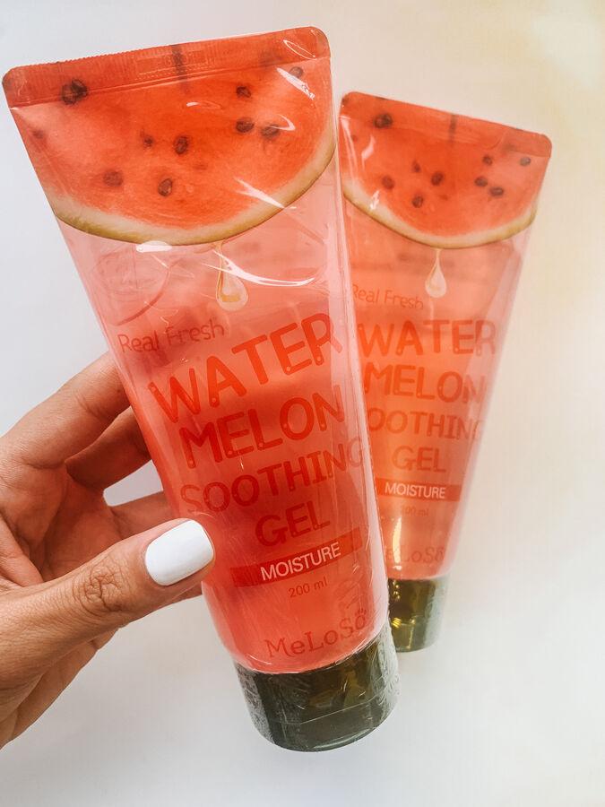 Meloso Real Fresh Water Melon Soothing Gel Гель для лица и тела с экстрактом арбуза 200мл