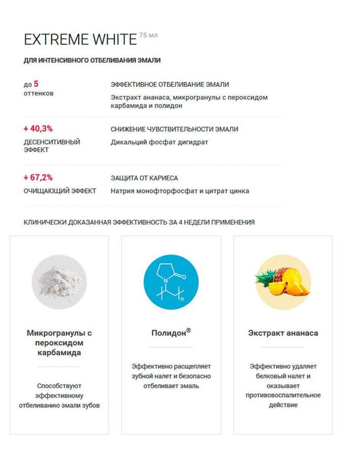 Splat СПЛАТ Зубная паста Спешл Экстрим Вайт /75