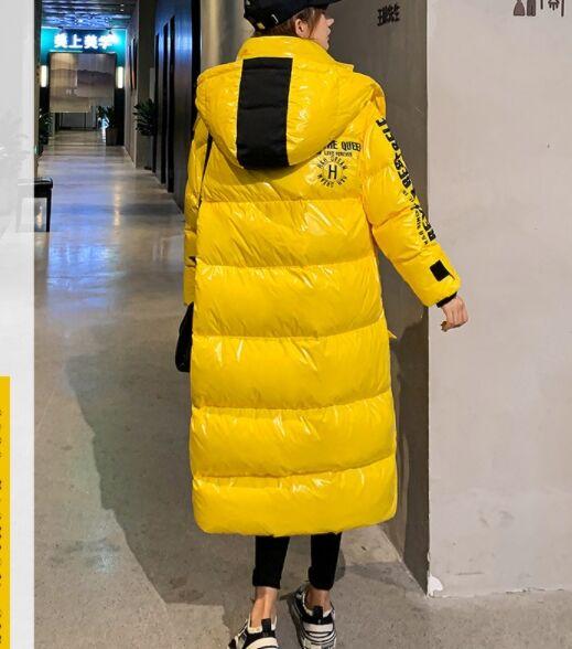 Пуховик,желтый