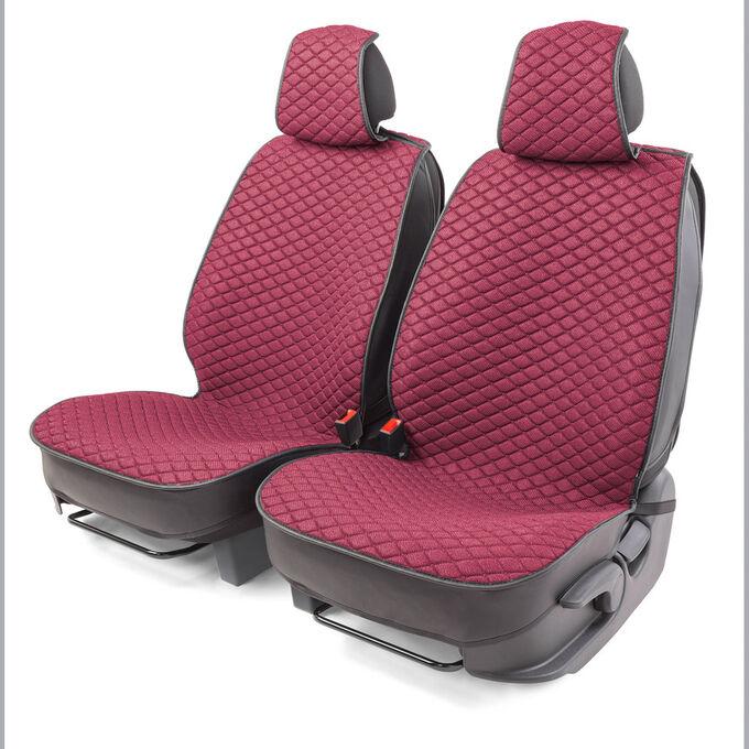 "Накидки на передние сиденья ""Car Performance"", 2 шт., fiberflax CUS-1032 PINK"