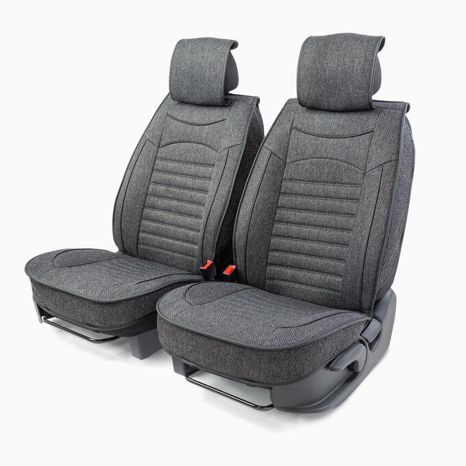 """Каркасные накидки на передние сиденья """"Car Performance"""", 2 шт., гобелен CUS-2082 D.GY"""