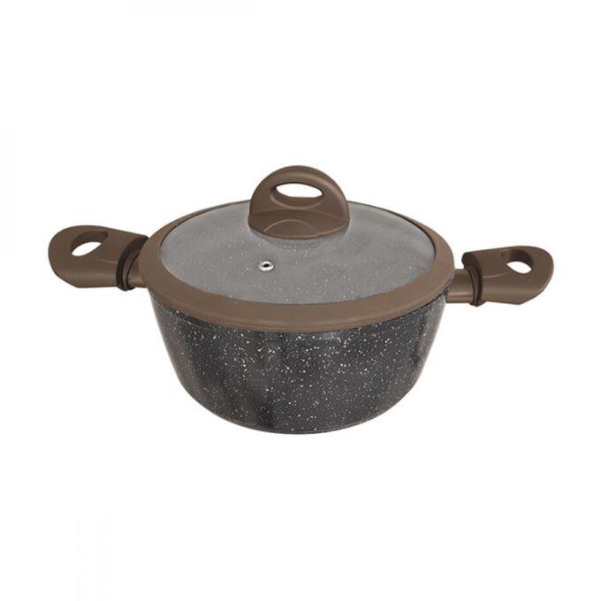 Кастрюля LaDina с каменным покрытием 2,3л 20см