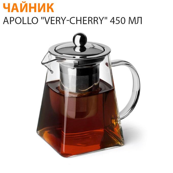 """Заварочный чайник APOLLO """"Very-Cherry"""" / 450 мл"""
