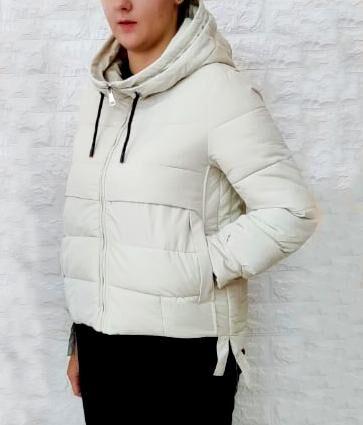 Куртка Утеплитель: халофайбер, зима Замеры изделия:  плечи 40, ОГ 98, длина рукава по внутреннему шву 44, длина 63