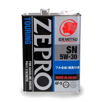 Масло моторное IDEMITSU Zepro Touring 5W30 SN/GF-5 синтетика 4л