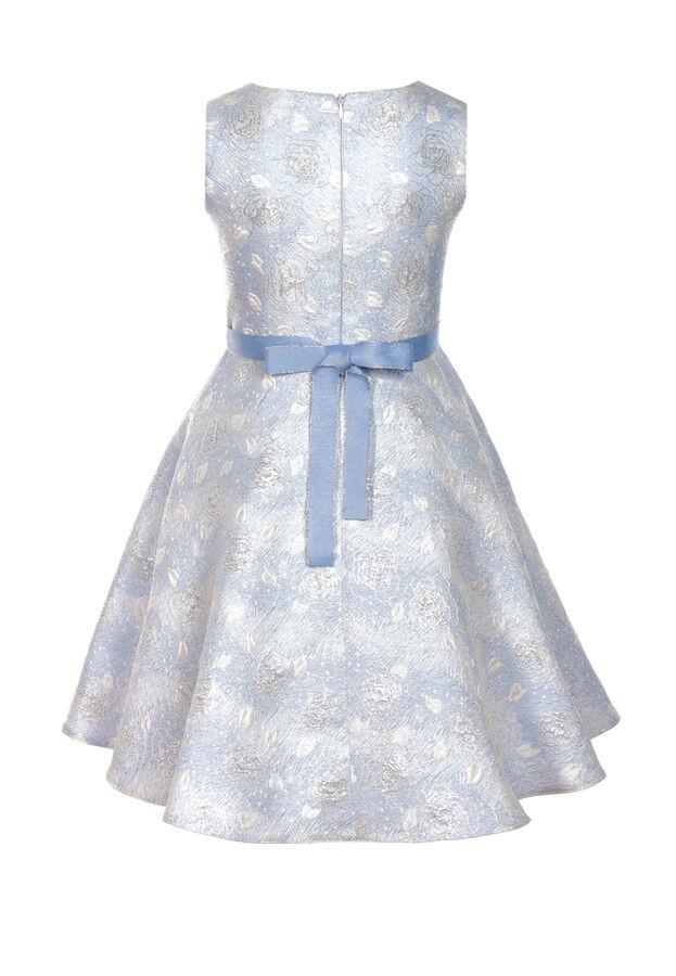 Лаврика нарядное платье голубой