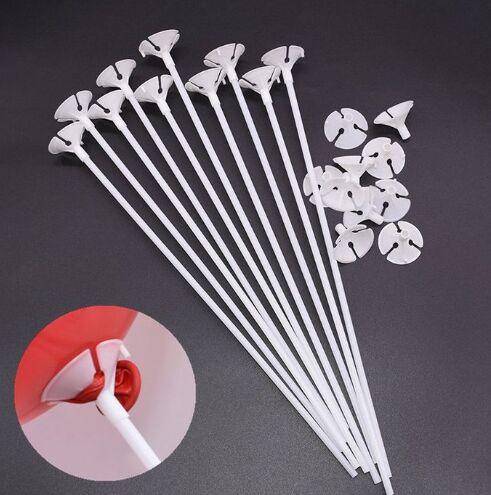 Палочка с держателем для воздушных шаров, длина 40см