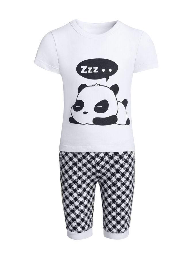 "Костюм с бриджами ""Панда"""