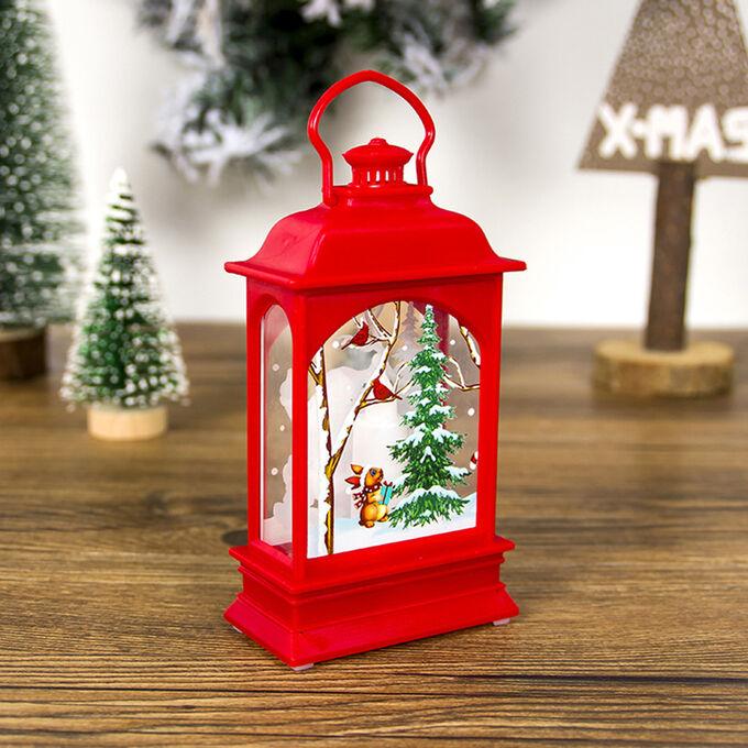 Рождественский Фонарик LED-подсветка