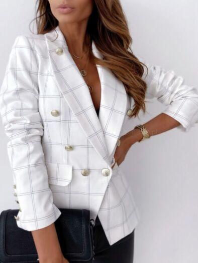 Пиджак женский с железными пуговицами ткани шелк спб