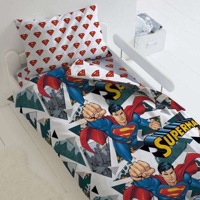 """Комплект постельного белья """"Супермен"""" Супермен"""" 1,5 сп."""
