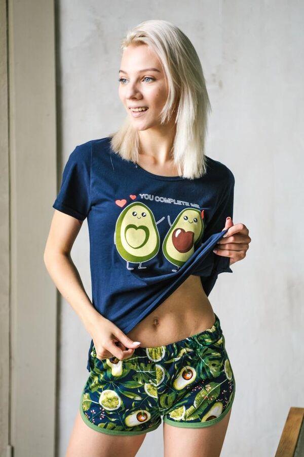 Костюм женский, модель 161, трикотаж (Авокадо)