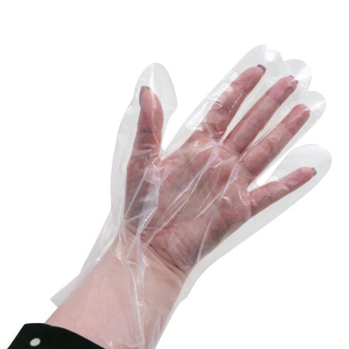 Одноразовые перчатки 100 шт Clean Wrap