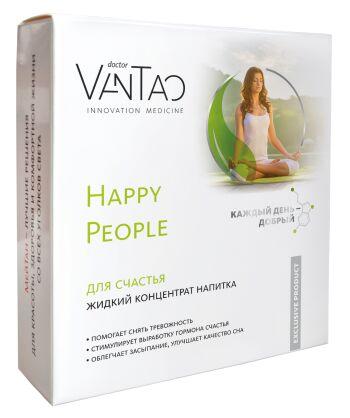 Happy People для счастья, жидкий концентрат напитка, 15 шт. (коробка)