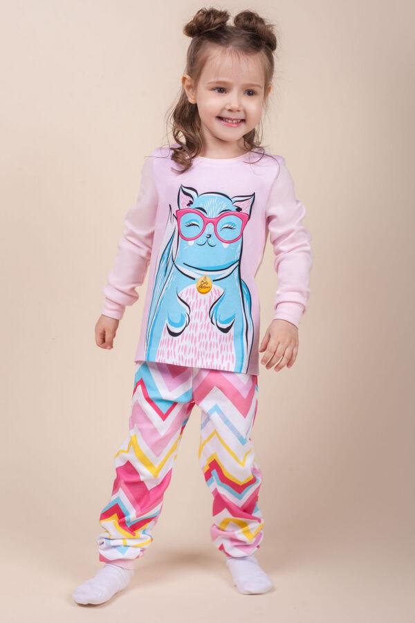 """Пижама детская для девочек """"Disco Cat"""""""