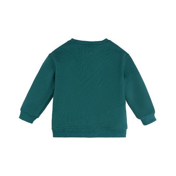 Свитшот Количество в упаковке: 1; Артикул: BN-210МПО20-461; Цвет: Голубой; Ткань: Футер 3-х нитка; Состав: 100% Хлопок; Цвет: Морская волна Скачать таблицу размеров