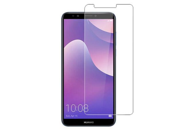 Стекло защитное 0,26 мм на ровную часть экрана Huawei Honor