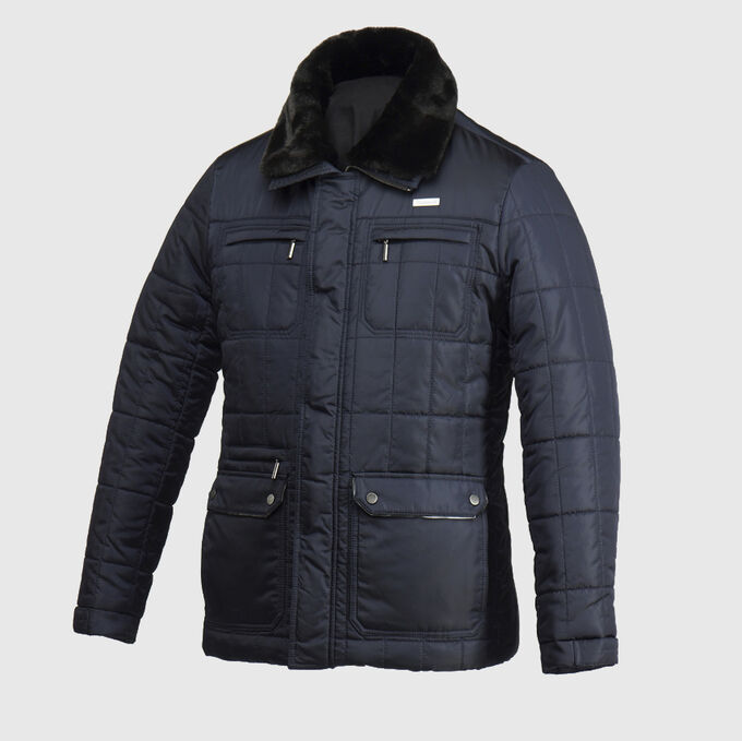 Мужская куртка т.синий