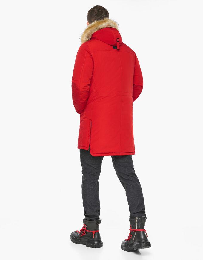 Красный мужской воздуховик зимний модель 45062