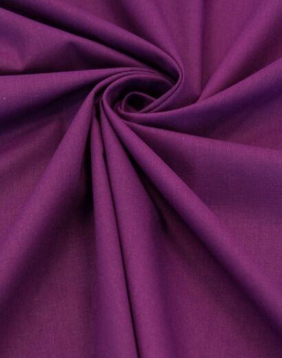 """Поплин """"Темно-лиловый"""", ш.2.2м, хлопок-100%, 120гр/м.кв"""