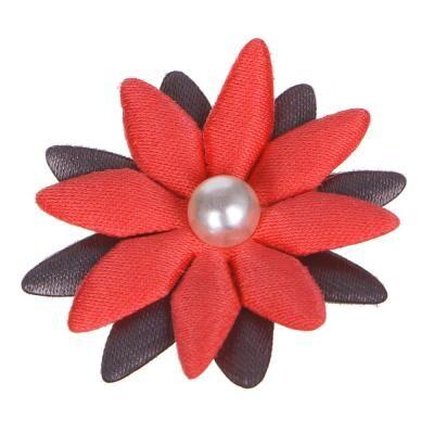 Набор для декора в виде ромашек, 10 шт, полиэстер, 8-10 цветов