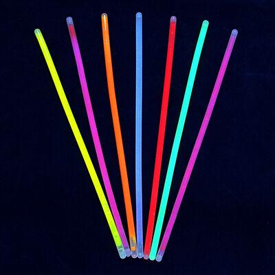 С Набор неоновых палочек 10шт, пэ, флуоресцентная краска, d0,5x20см, 7 цветов, GB010