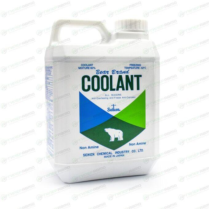 Антифриз Seiken Bear LLC, зеленый, -52°C, 2л, арт. LL2GP60