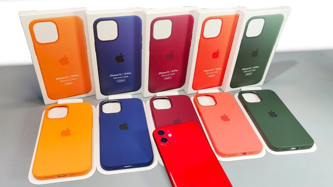 Силиконовый чехол Silicone Case для iPhone 12 mini
