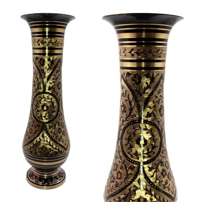 Ваза декоративная латунь 40см 1514гр