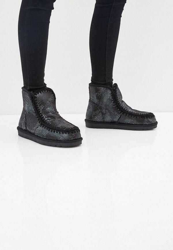 Ботинки Цвет черный. Материал внешний кожа иск Материал внутренний мех иск Материал стельки мех иск