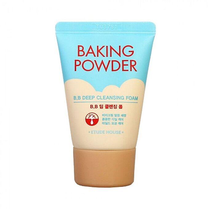 Etude House Baking Powder B.B Deep Cleansing Foam Очищающая пенка для снятия ББ-крема