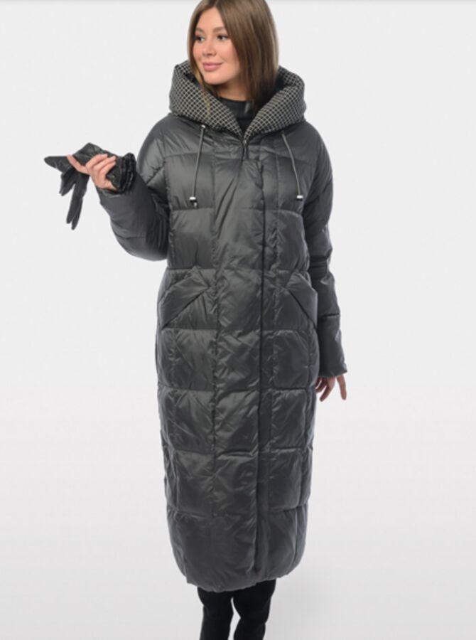 Длинное зимнее пальто в Комсомольске-на-Амуре